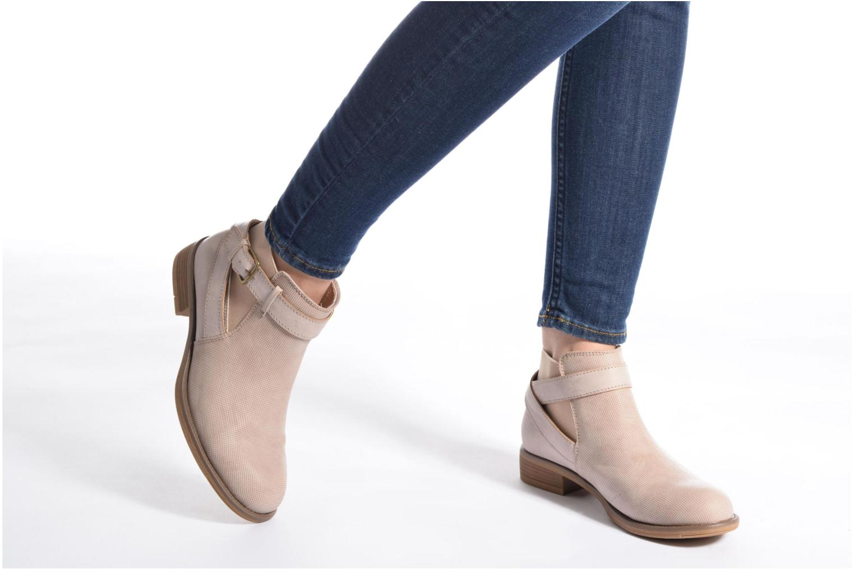 Bottines et boots Refresh Jerol Beige vue bas / vue portée sac