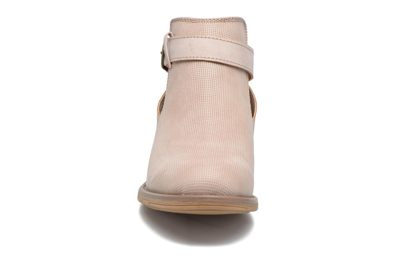 Bottines et boots Refresh Jerol Beige vue portées chaussures