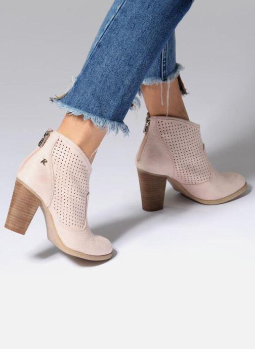 Bottines et boots Refresh Lono Rose vue bas / vue portée sac
