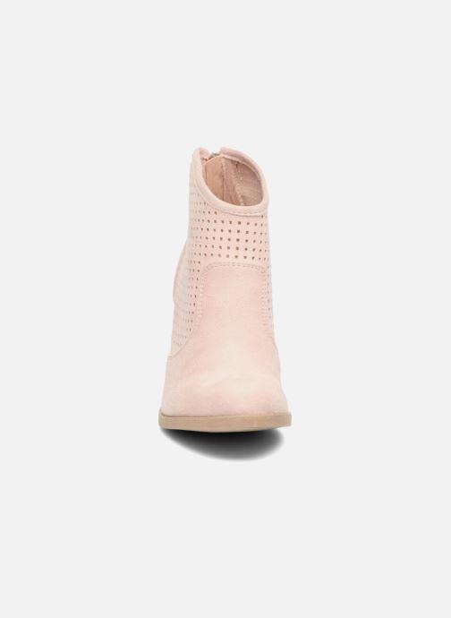 Bottines et boots Refresh Lono Rose vue portées chaussures
