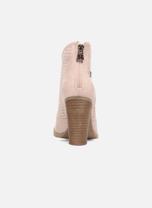 Bottines et boots Refresh Lono Rose vue droite