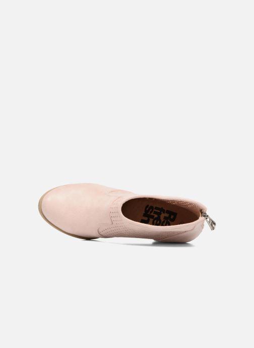 Bottines et boots Refresh Lono Rose vue gauche