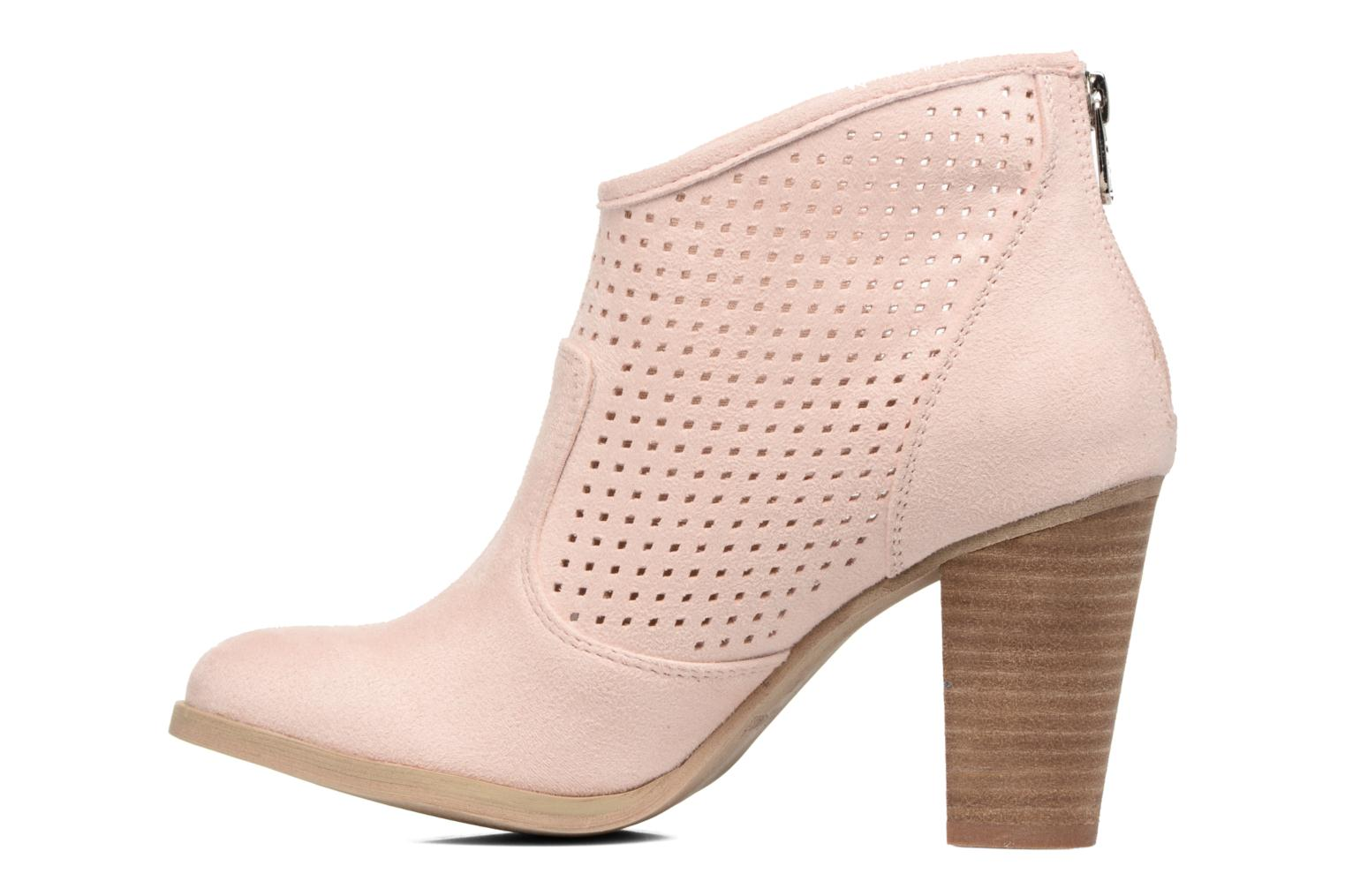 Ankle boots Refresh Lono Pink front view