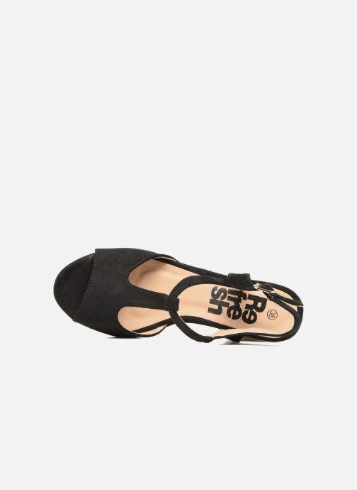 Sandalen Refresh Pero Zwart links