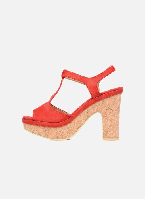 Sandales et nu-pieds Refresh Pero Rouge vue face