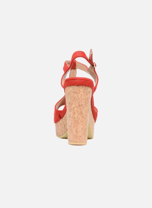 Sandales et nu-pieds Refresh Pero Rouge vue droite