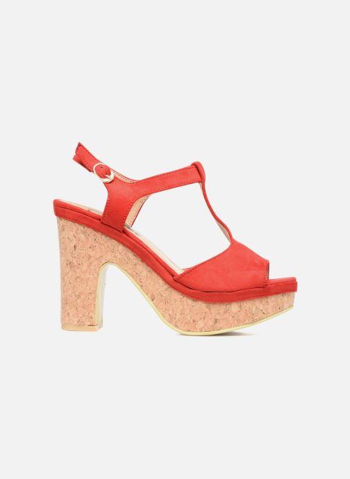 Sandales et nu-pieds Refresh Pero Rouge vue derrière