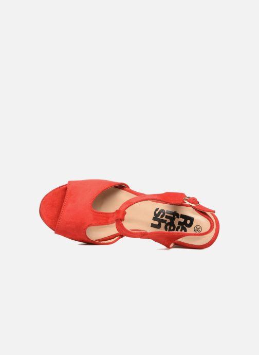 Sandales et nu-pieds Refresh Pero Rouge vue gauche