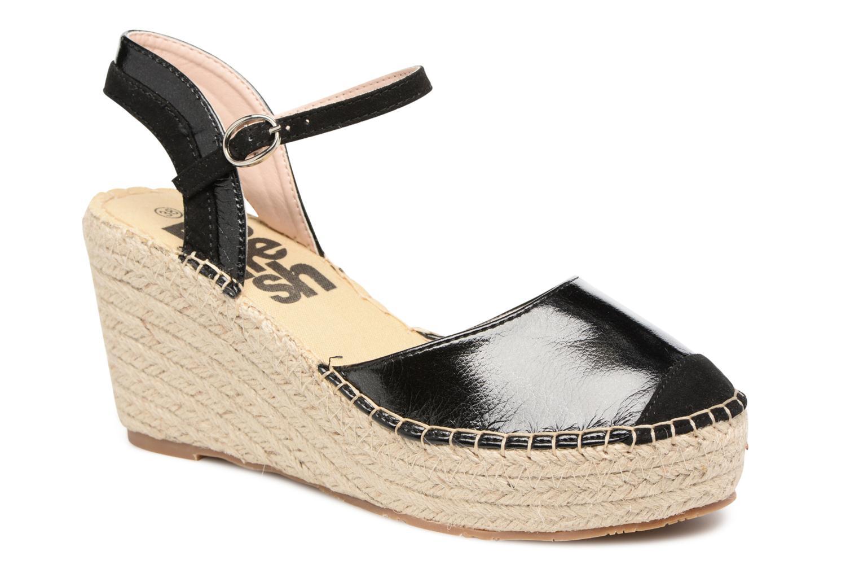 Sandaler Refresh Majan Sort detaljeret billede af skoene