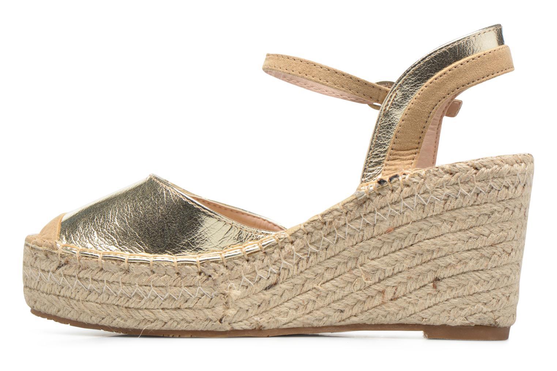 Sandaler Refresh Majan Guld og bronze se forfra