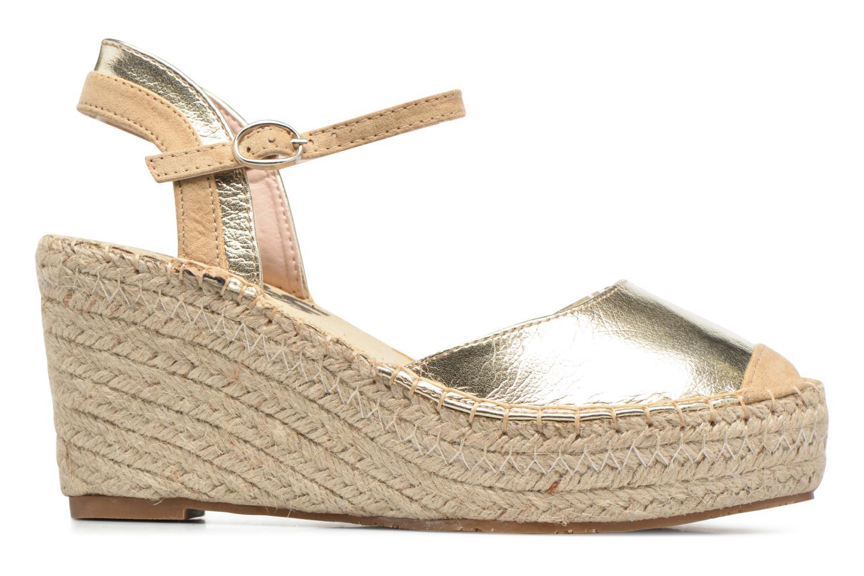 Sandaler Refresh Majan Guld og bronze se bagfra