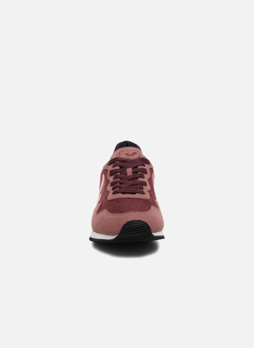 Trainers Veja Sdu Burgundy model view