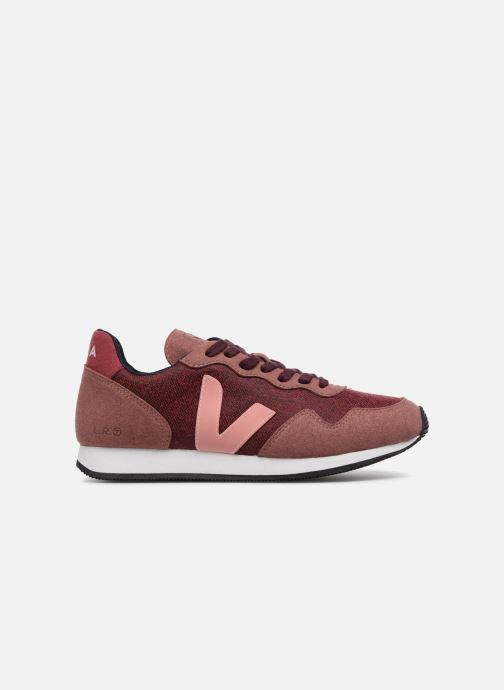 Trainers Veja Sdu Burgundy back view