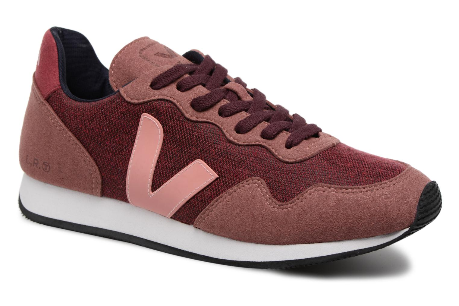 Trainers Veja Sdu Burgundy detailed view/ Pair view