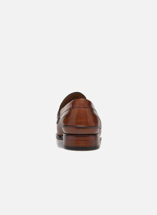 Mocassins Marvin&Co Luxe Walsall - Cousu Goodyear Bruin rechts