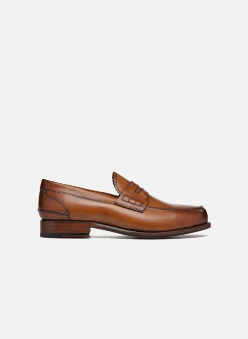 Mocasines Marvin&Co Luxe Walsall - Cousu Goodyear Marrón vistra trasera