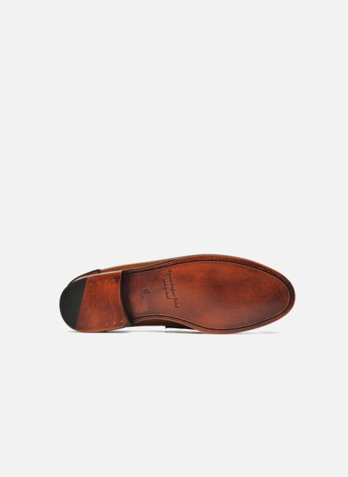 Mocasines Marvin&Co Luxe Walsall - Cousu Goodyear Marrón vista de arriba