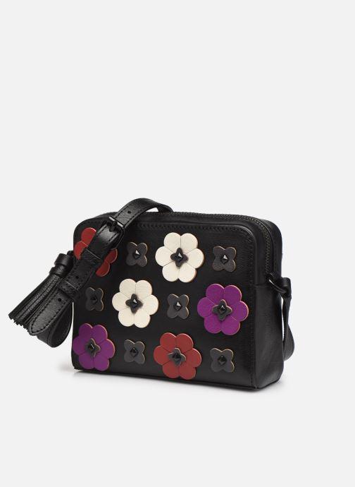 Handtaschen Rebecca Minkoff Floral Applique Camera bag schwarz schuhe getragen