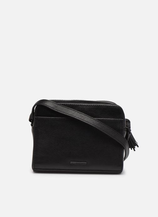 Handtaschen Rebecca Minkoff Floral Applique Camera bag schwarz ansicht von vorne