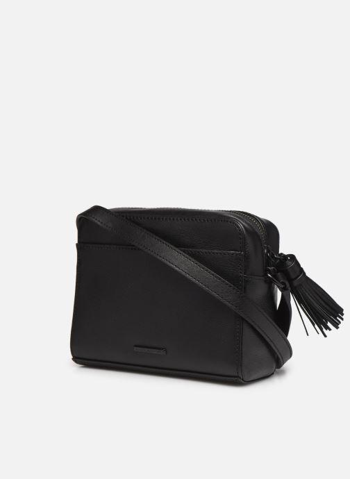 Handtaschen Rebecca Minkoff Floral Applique Camera bag schwarz ansicht von rechts