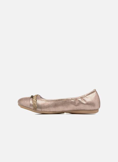 Ballerina's Dockers Oli Goud en brons voorkant