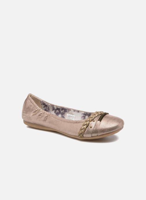 Ballerina's Dockers Oli Goud en brons detail