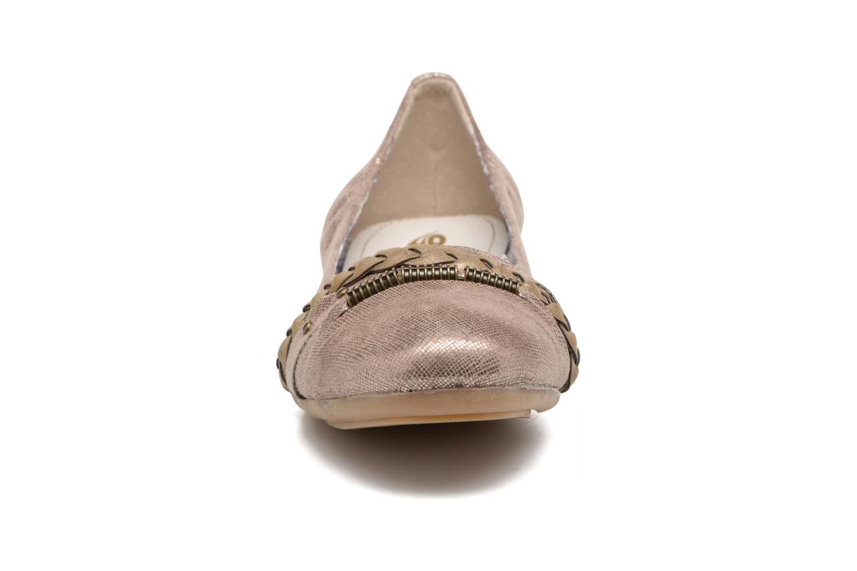 Ballerines Dockers Oli Or et bronze vue portées chaussures
