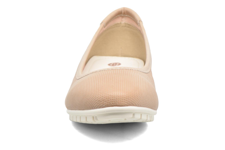Ballerines Dockers Jama Rose vue portées chaussures
