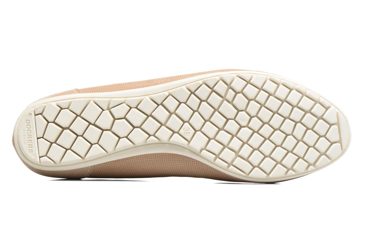 Ballet pumps Dockers Jama Pink view from above
