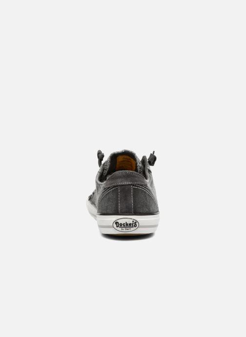 Sneakers Dockers Armand Grijs rechts