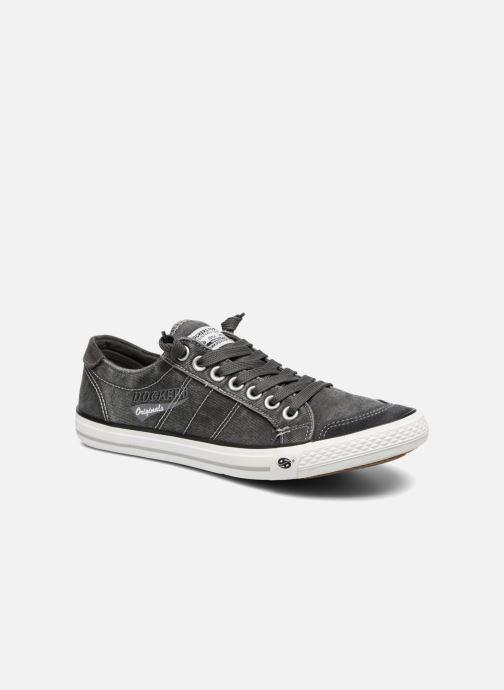 Sneakers Dockers Armand Grijs detail