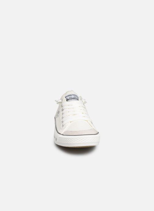 Baskets Dockers Armand Blanc vue portées chaussures