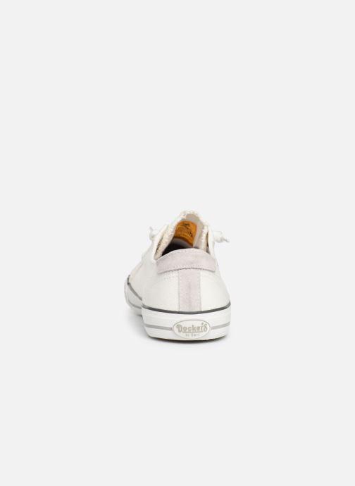 Sneakers Dockers Armand Wit rechts