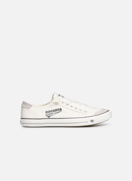 Sneakers Dockers Armand Wit achterkant