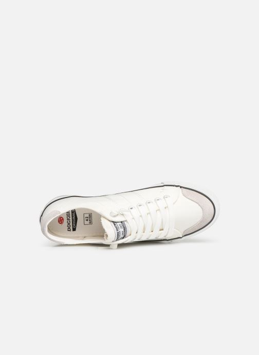 Sneakers Dockers Armand Wit links
