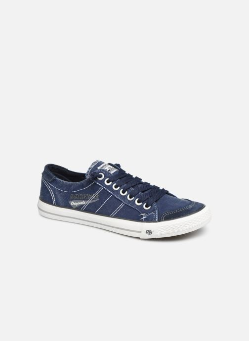 Sneakers Dockers Armand Blauw detail