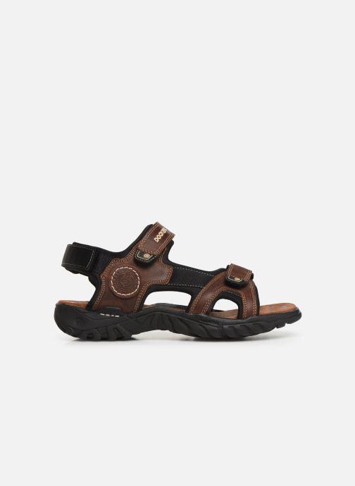 Sandales et nu-pieds Dockers Léoni Marron vue derrière