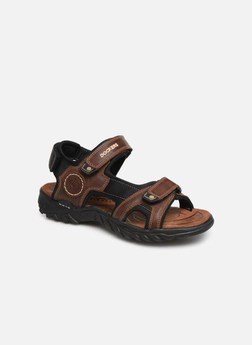 Sandales et nu-pieds Dockers Léoni Marron vue détail/paire