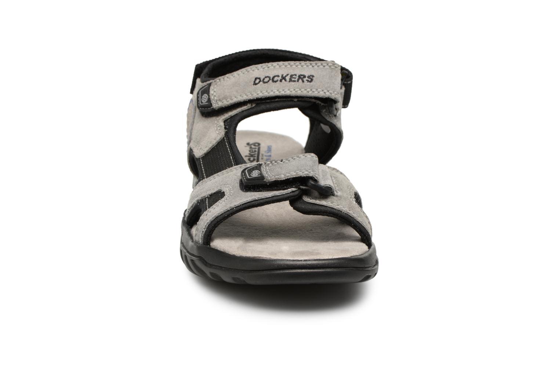 Sandales et nu-pieds Dockers Léoni Gris vue portées chaussures