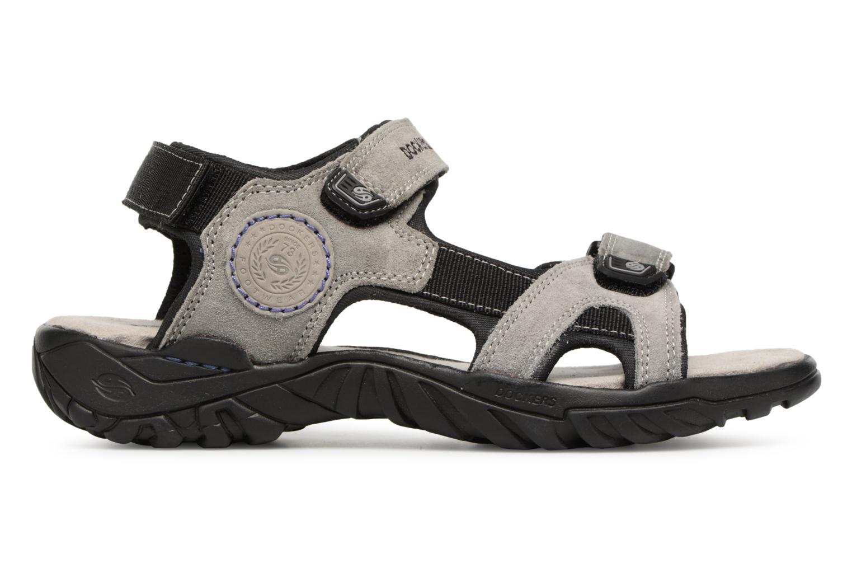 Sandales et nu-pieds Dockers Léoni Gris vue derrière