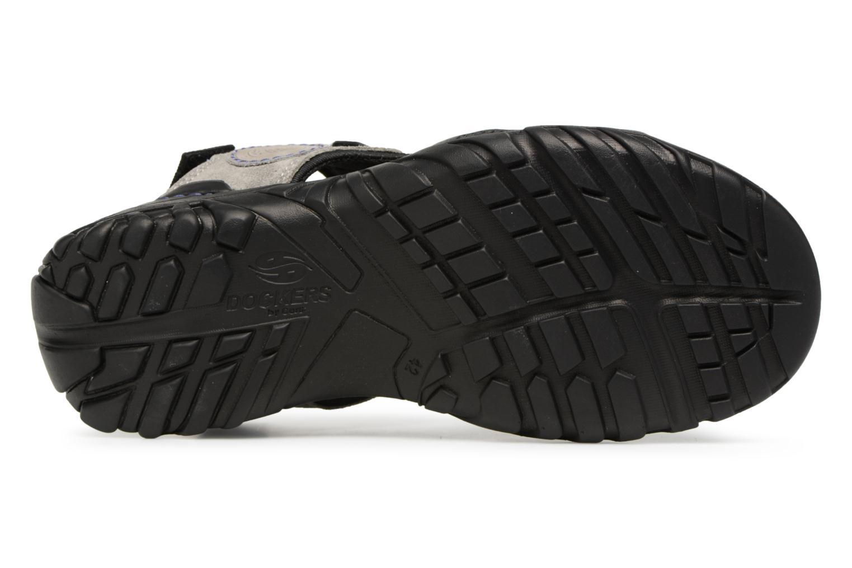 Sandales et nu-pieds Dockers Léoni Gris vue haut
