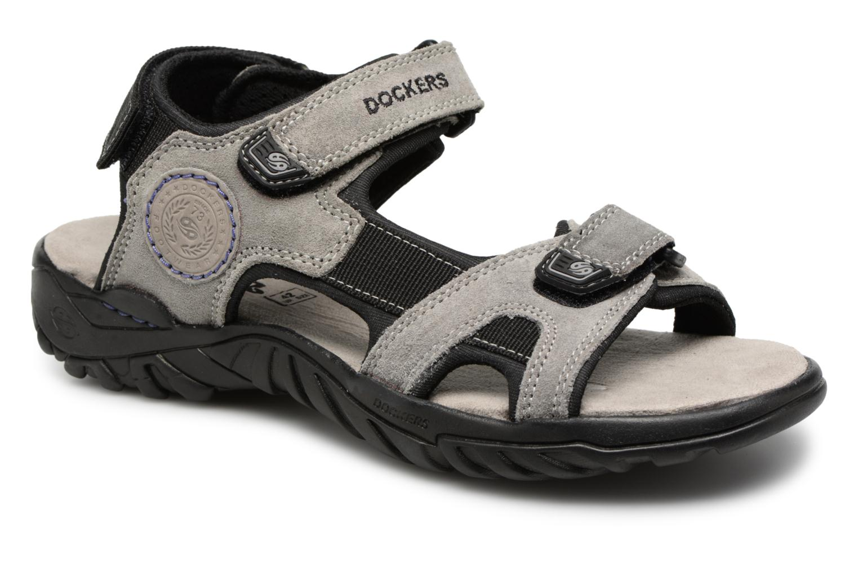 Sandales et nu-pieds Dockers Léoni Gris vue détail/paire