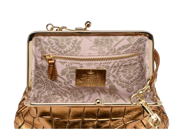 Sacs à main Vivienne Westwood Armour Handbag Or et bronze vue derrière
