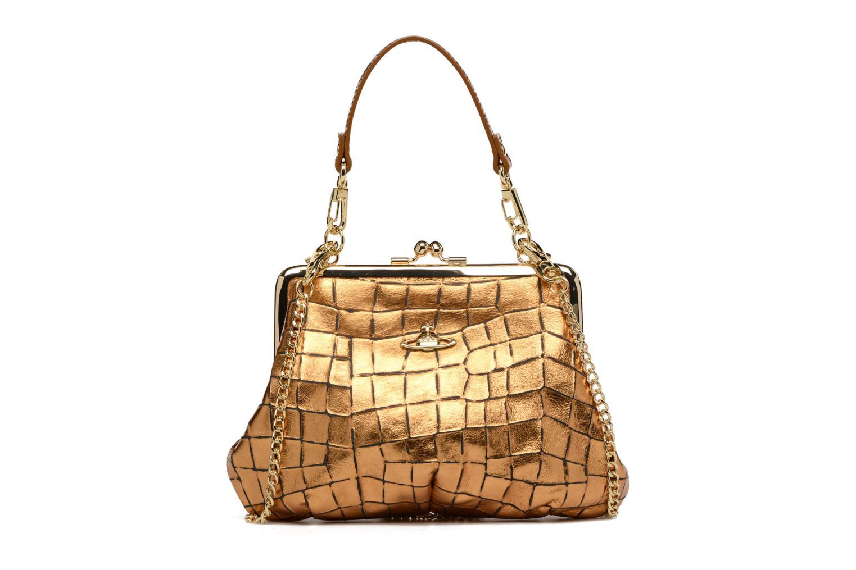 Sacs à main Vivienne Westwood Armour Handbag Or et bronze vue détail/paire