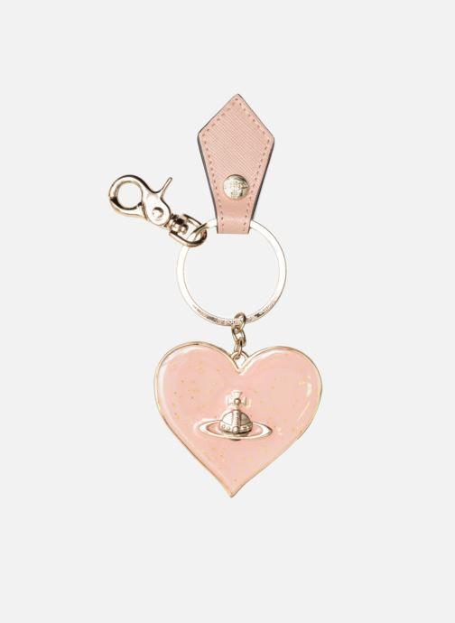 Divers Vivienne Westwood Mirror Heart Gadget Keyholder Rose vue détail/paire