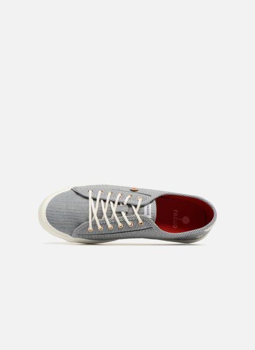 Sneakers Faguo Birch01 Blauw links