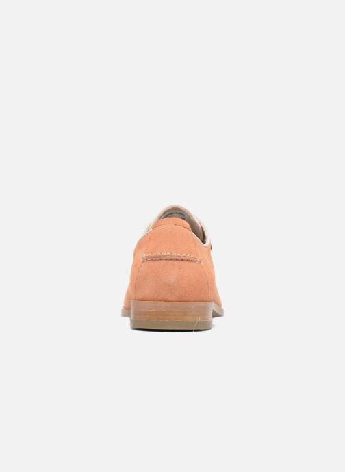 Chaussures à lacets Faguo Rose02 Orange vue droite