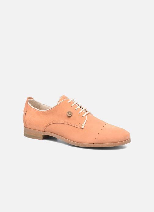 Chaussures à lacets Faguo Rose02 Orange vue détail/paire