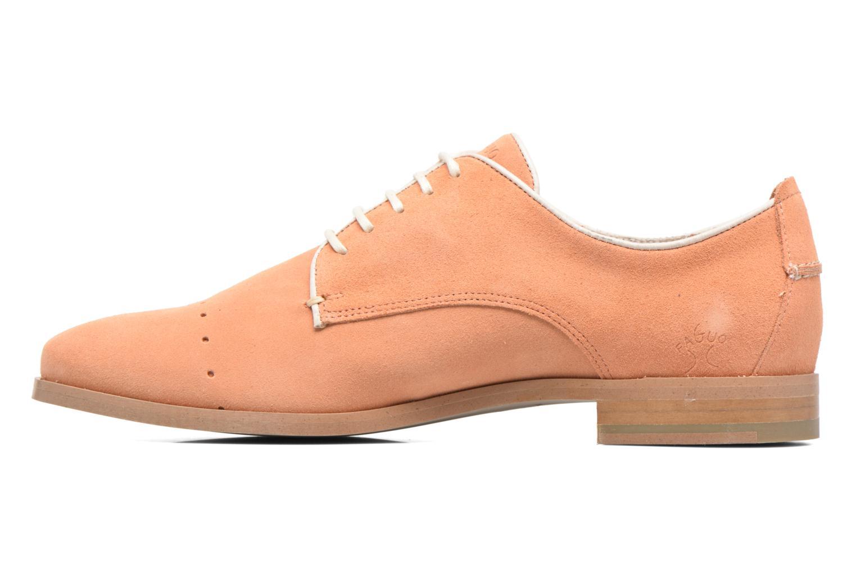 Chaussures à lacets Faguo Rose02 Orange vue face