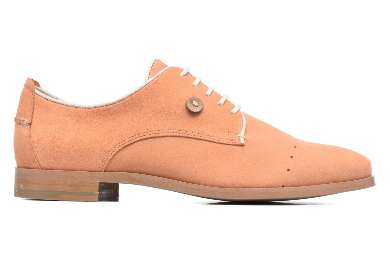 Chaussures à lacets Faguo Rose02 Orange vue derrière